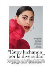 MINA EL HAMMANI in Marie Claire Magazine, SPain April 2021