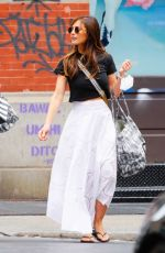 MINKA KELLY Out and About in New York 06/08/2021