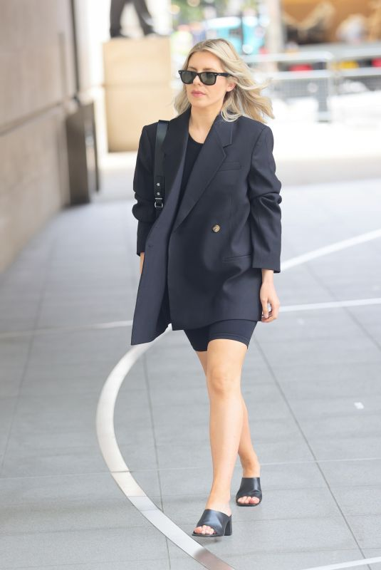 MOLLIE KING Arrives at BBC Radio One in London 06/11/2021