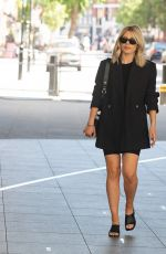 MOLLIE KING Arrives at BBC Radio One in London 06/13/2021