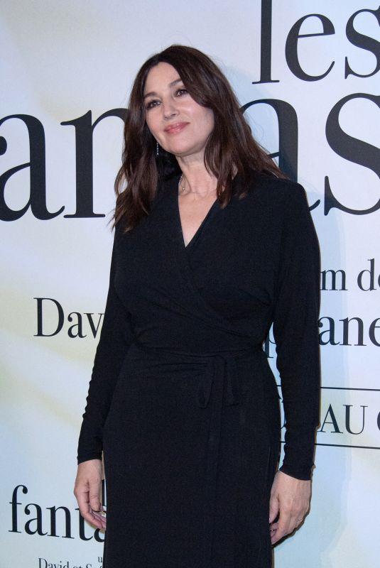 MONICA BELLUCCI at Les Fantasmes Premiere in Paris 06/24/2021