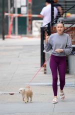 NAOMI WATTS Out with Her Dog in New York 06/07/2021