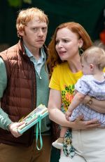 NELL TIGER FREE and LAUREN AMBROSE on the Set of Servant in Philadelphia 06/09/2021