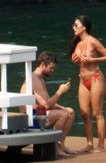 NICOLE SCHERZINGER in Bikini on Vacation in Italy 06/29/2021