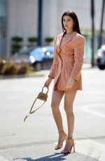 NICOLE WILLIAMS at a Photoshoot for Jaquemes in Beverly Hills 06/16/2021