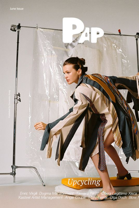 OLGA OBUMOVA for Pap Magazine, June 2021