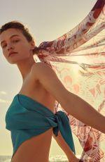 OLGA OBUMOVA for Vogue Magazine, Hong Kong June 2021