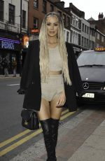 OLIVIA ATTWOOD at Olivia Attwood x ISawItFirst Collection Launch Party in Manchester 06/14/2021