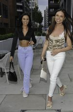 OLIVIA ATTWOOD, FRAN PARMAN and CLELIA THEODOROU at Menagerie in Manchester 06/02/2021