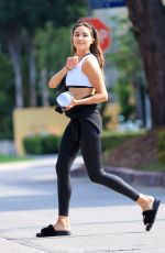OLIVIA CULPO Leaves Pilates Class in West Hollywood 06/29/2021