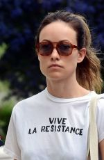 OLIVIA WILDE Out and About in London 06/03/2021