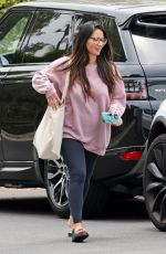 OLIVVIA MUNN Out and About in Los Angeles 06/29/2021