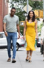PADMA LAKSHMI and Terrance Hayes Out in New York  06/19/2021