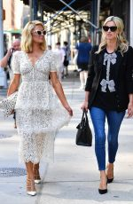 PARIS and NICKY HILTON Out in New York 06/21/2021