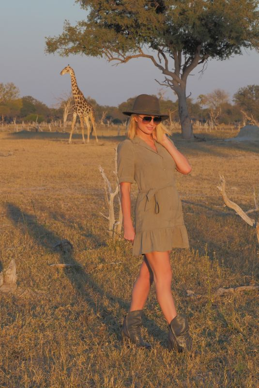 PARIS HILTON and Carter Reum on Vacation in South Africa 06/14/2021