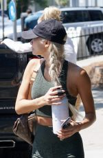 PIA MIA Leaves Dogpound Gym in West Hollywood 06/22/2021