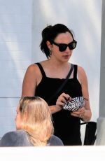 Pregnant GAL GADOT Out for Lunch with Friends in Los Angeles 06/17/2021
