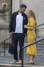 Pregnant JENNIFER LAWRENCE and Cooke Out in New Orleans 06/05/2021