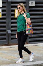 Pregnant RACHEL RILEY Leaves Countdown Studios in Salford 06/08/2021