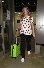 Pregnant RACHEL RILEY Leaves Media City in Salford 06/17/2021