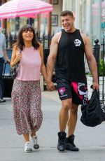 Pregnant ROXANNE PALLETT and Jason Carrion Out in New York 06/10/2021
