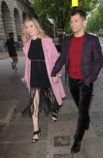 RACHEL RILEY and Pasha Kovalev Out in London 06/04/2021