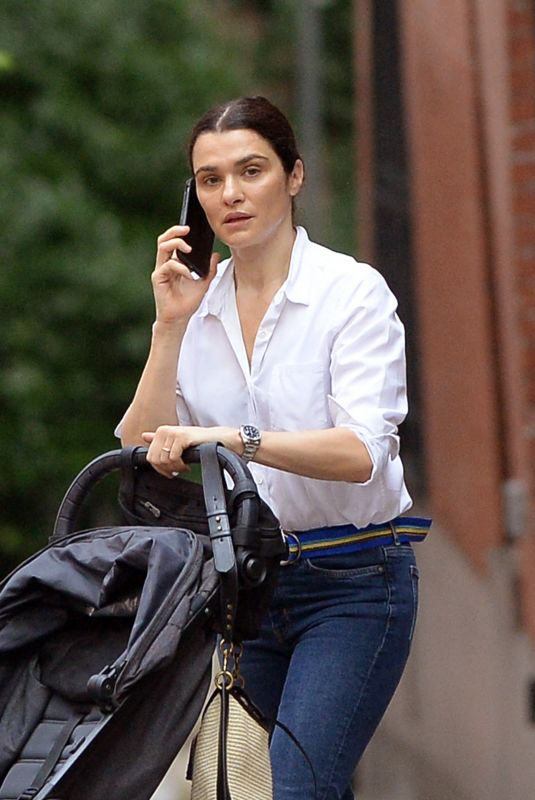 RACHEL WEISZ Out and About in Brooklyn 06/22/2021