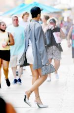 RIHANNA Out and About in New York 06/29/2021