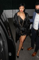 RIHANNA Out for Dinner at Delilah in West Hollywood 06/06/2021