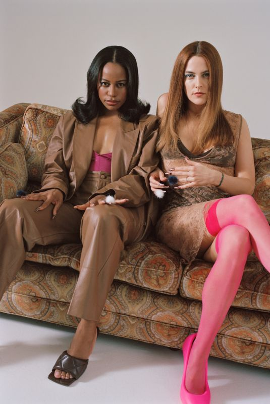 RILEY KEOUGH and TAYLOR PAIGE for Cultured Magazine, June 2021
