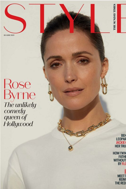ROSE BYRNE in The Sunday Times Style, June 2021