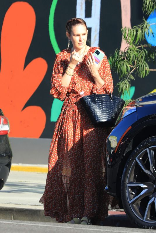 RUMER WILLIS Out and About in West Hollywood 06/23/2021