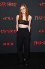 SADIE SINK at Fear Street Trilogy Premiere in Los Angeles 06/28/2021