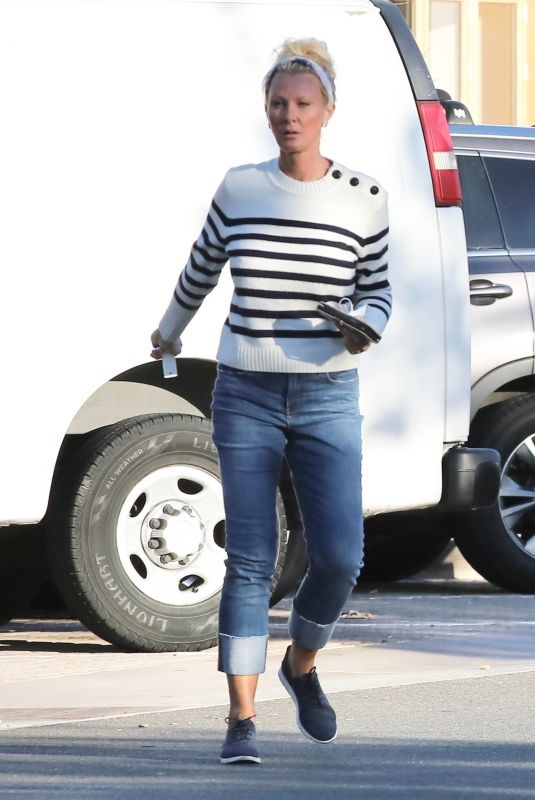 SANDRA LEE Out and About in Malibu 06/10/2021