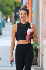 SARA SAMPAIO Out and About in West Hollywood 06/18/2021