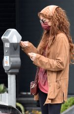 SARAH HYLAND Out and About in West Hollywood 06/07/2021