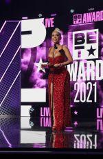 SAWEETIE at 2021 BET Awards in Los Angeles 06/27/2021