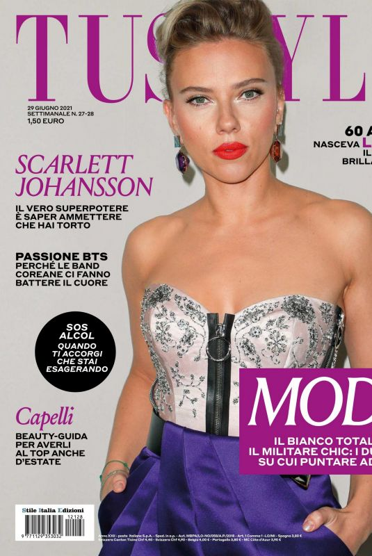 SCARLETT JOHANSSON in Tu Style Magazine, June 2021