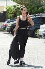 SCOUT WILLIS Heading to a Gym in Los Angeles 06/29/2021