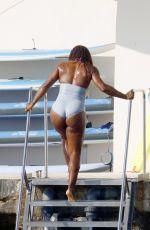 SERENA WILLIAMS in Swimsuit in France 06/12/2021