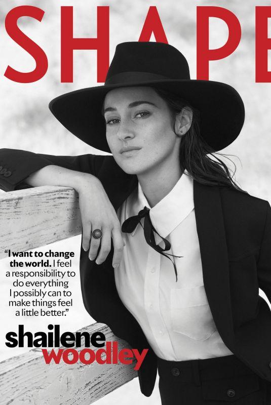 SHAILENE WOODLEY in Shape Magazine, July/August 2021