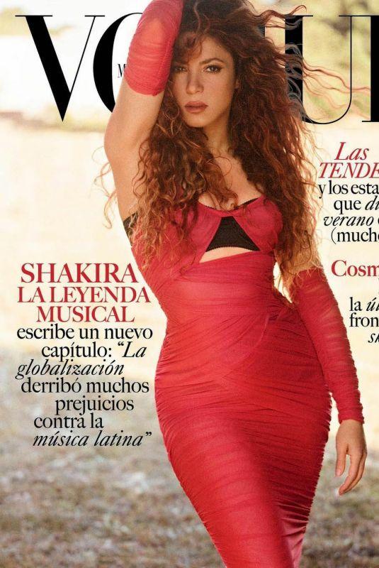 SHAKIRA for Vogue Magazine, Mexico July 2021