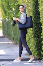 SHANINA SHAIK and ADDISON RAE Leaves Morning Pilates Class in West Hollywood 06/09/2021