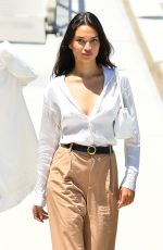 SHANINA SHAIK and NICOLE WILLIAMS Out for Lunch at Marina in Newport Beach 06/01/2021