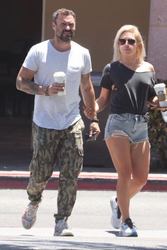 SHARNA BURGESS and Brian Austin Green Out in Malibu 06/08/2021