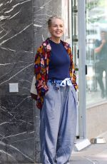 SHARON STONE Out and About at Madison Avenue in New York 06/18/2021
