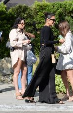 SHAY MITCHELL Out with Friends at Messhall Kitchen in Los Angeles 06/29/2021