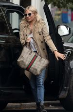 SIENNA MILLER Out and About in Notting Hill 06/25/2021