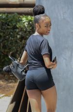 SKAI JACKSON Heading to Workout Session in Los Angeles 06/02/2021