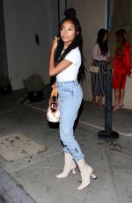 SKAI JACKSON Out and About in West Hollywood 06/03/2021